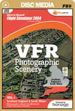 VFR Photographic Scenery - Volume 1 Southern England & South Wales for FS2004
