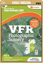 VFR Photographic Scenery - Volume 9 Ireland East for FS2004