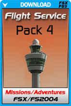 FSX Missions - Flight Service Pack 4
