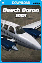 Beechcraft Baron B58 (X-PLANE)