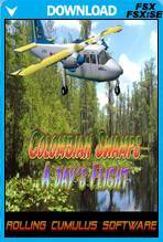 COLOMBIAN SWAMPS - A DAY'S FLIGHT
