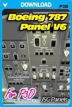 Boeing 787 Panel v6 for P3D