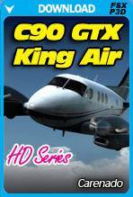 C90 GTX King Air HD Series by Carenado