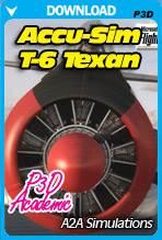 A2A Simulations Accu-Sim T-6 Texan P3D Academic