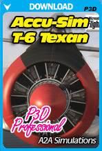 A2A Simulations Accu-Sim T-6 Texan P3D Professional