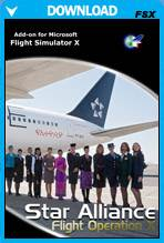 Flight Operation X - Star Alliance (FSX)