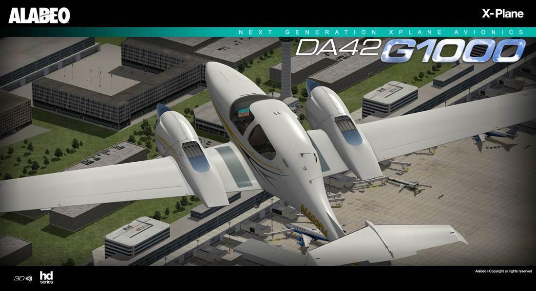 Alabeo DA-42 Twin Star (X-Plane)