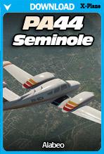Alabeo PA44 Seminole (X-Plane)