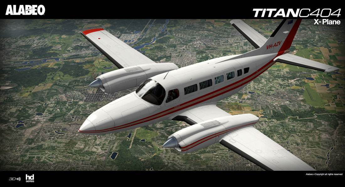 C404 TITAN X-PLANE