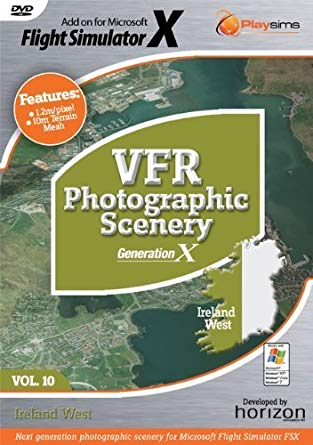 VFR Photographic Scenery - Volume 10 Ireland West for FS2004
