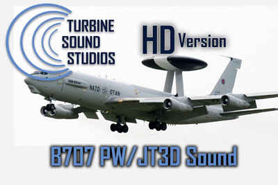 TSS Boeing 707 PW/ JT3D HD Soundpack for FS2004