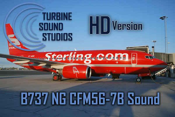 Boeing 737NG CFM56-7B Soundpack for FS2004