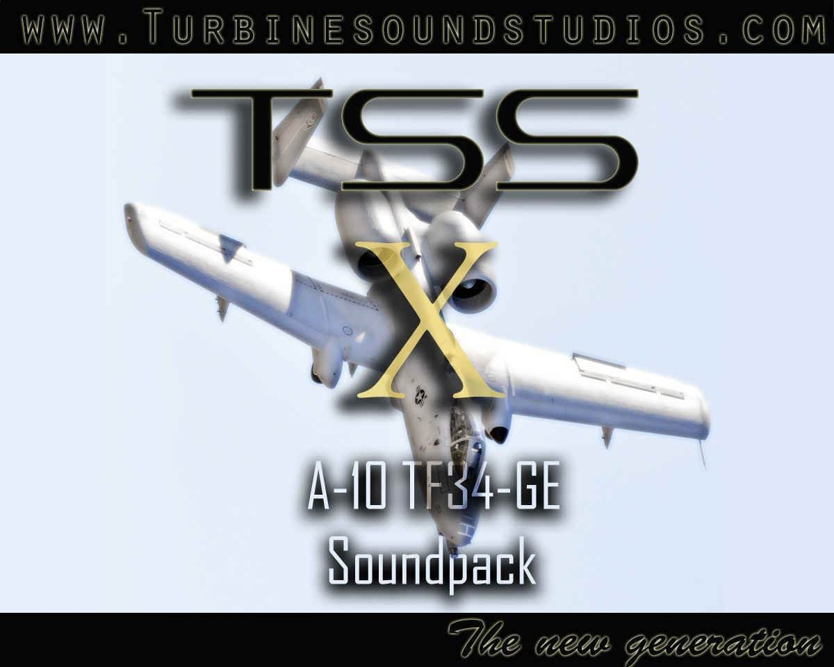 A-10 TF-34 Soundpack for FSX