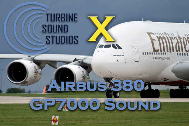 Airbus 380 GP7000 soundpack for FSX