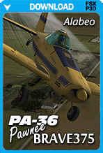 Alabeo PA-36 Pawnee Brave 375