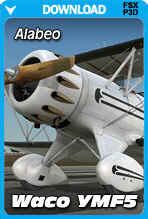 Waco YMF5 HD Bi-Plane FSX/P3D