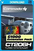 Carenado CT206H G1000 Extension Pack