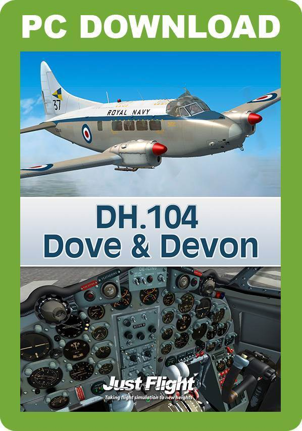 DH.104 Dove & Devon for FSX and P3D