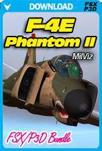 F-4E Phantom II FSX/P3D Bundle