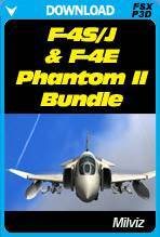 F-4J/S and F-4E Phantom II Bundle for FSX & P3D