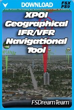 XPOI Geographical VFR IFR Tool