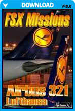 FSX Missions - Airbus 321 Lufthansa