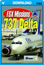 FSX Missions - 737 Delta
