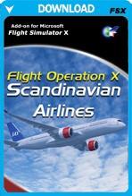 Flight Operation X: Scandinavian Airlines (FSX)