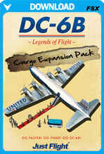 DC-6B - Legends of Flight Cargo Expansion Pack