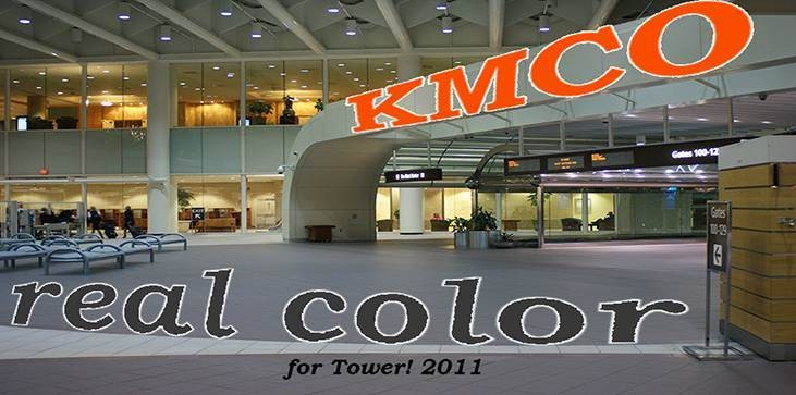 Real Color KMCO for Tower! 2011