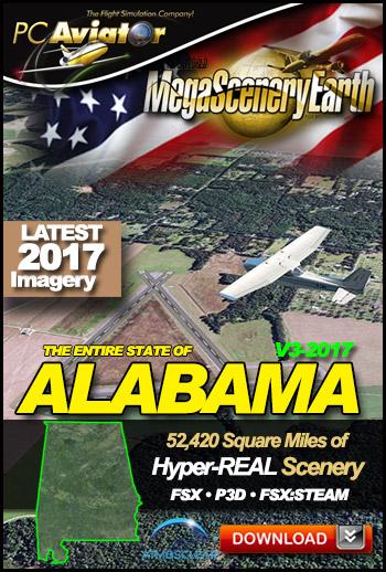 MegaSceneryEarth 3 - Alabama (2017)