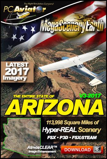 MegaSceneryEarth 3 - Arizona (2017)