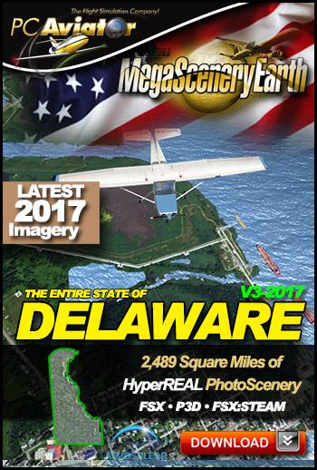 MegaSceneryEarth 3 - Delaware (2017)