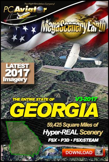 MegaSceneryEarth 3 - Georgia (2017)