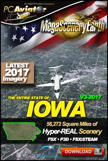 MegaSceneryEarth 3 - Iowa (2017)