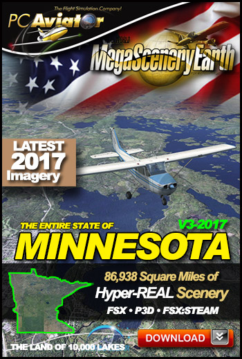 MegaSceneryEarth 3 - Minnesota (2017)