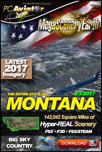 MegaSceneryEarth 3 - Montana (2017)