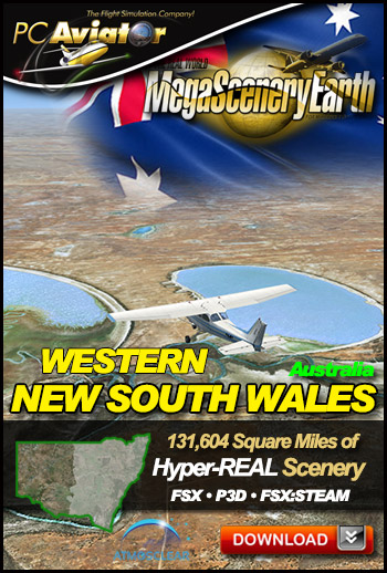 MegaSceneryEarth 3 - New South Wales (West)