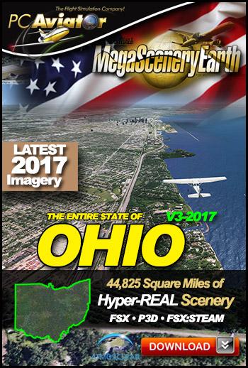MegaSceneryEarth 3 - Ohio (2017)