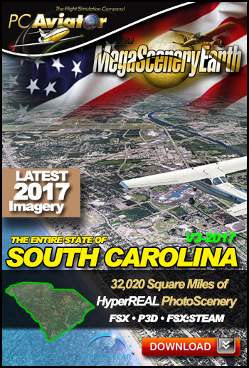MegaSceneryEarth 3 - South Carolina (2017)