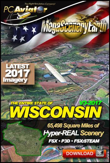 MegaSceneryEarth 3 - Wisconsin (2017)
