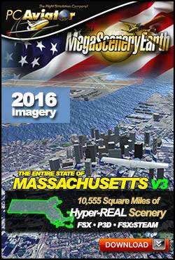 MegaSceneryEarth 3 - Massachusetts