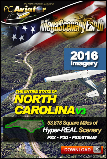 MegaSceneryEarth 3 - North Carolina