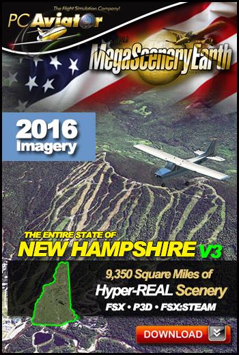 MegaSceneryEarth 3 - New Hampshire