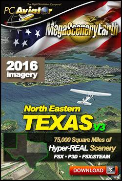 MegaSceneryEarth 3 - Texas North East
