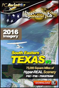 MegaSceneryEarth 3 - Texas South East