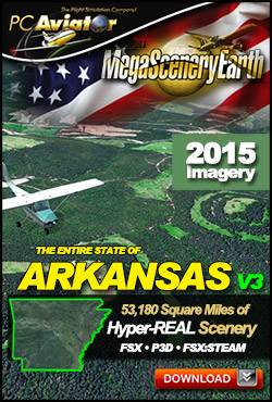 MegaSceneryEarth 3 - Arkansas