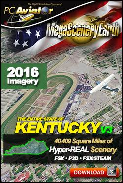 MegaSceneryEarth 3 - Kentucky