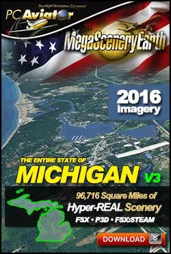 MegaSceneryEarth 3 - Michigan
