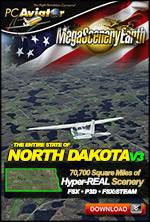 MegaSceneryEarth 3 - North Dakota